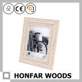 Het sjofele Houten Frame van het Beeld van de Familie voor de Decoratie van de Lijst