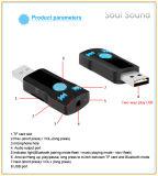 Горячий продавая приемник Bluetooth фабрики приватный тональнозвуковой с Hands-Free игрой вызывать и нот (BC07)