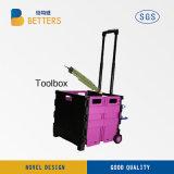 Новая коробка комплекта инструментов электричества в красном цвете коробки хранения Китая