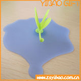 Tampa Shaped animal personalizada da bacia do silicone