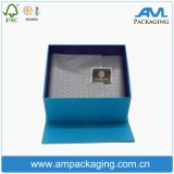 Rigid Carboard Printed Ribbon Sealed Hinged Box Magnet Encerramento Luxury Gift Packaging
