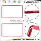 Materiale da costruzione di alluminio rosso luminoso decorativo del blocco per grafici degli accessori TV