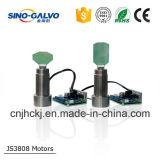 Système efficace de scanner de Galvo du coût élevé CO2/YAG Js3808 avec le bon prix