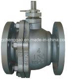 Válvula de esfera de alta pressão da flutuação