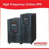 Monitor LCD de alta freqüência de 1 a 20kVA e monitores de bateria inteligente