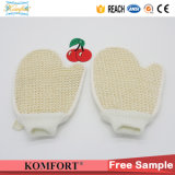 Перчатка ванны Softtextile перчатки дешевого скруббера ванны сизаля Exfoliating