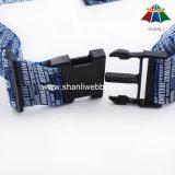 """Hochwertiges Polyester 2 """" Wärme-Übertragen Drucken-Gepäck-Brücke mit Plastikfaltenbildung"""