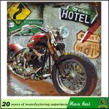 Zinn-Metallabbildung, Familien-hängender Farbanstrich, Hotel-Wand-Dekor C236