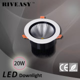 diodo emissor de luz Downlight do alumínio 20W com o projector do diodo emissor de luz de Ce&RoHS