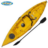 3.11m Plastic Single Сядьте на Top Fishing Kayak Canoe