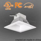 Neuestes UL 8inch quadratische LED Downlight 45W CRI>90