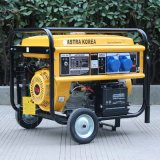 Bison (Chine) BS4500h (H) 3kw 3kv Prix d'usine Fil Copper Long Run Time Portable DC DC Welding Generator