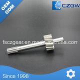 Petite et mince précision des essieux métalliques Partie d'usinage suisse