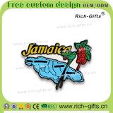 カスタマイズされた昇進のギフトの装飾PVC冷却装置磁石の記念品ジャマイカ(RC- JM)