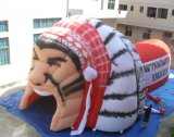 Wholesale Giant Custom Inflatable Chief Mascot football blow tunnels