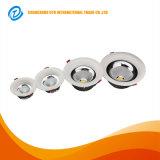Embutir el techo mueren la MAZORCA LED Downlight de la pulgada 10W de la fundición de aluminio 3