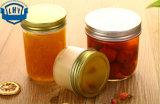 bouteille de miel de l'encombrement 300ml. Bouteilles en boîte faites maison de conserves au vinaigre