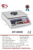 IP de cuenta de pesaje electrónico 65 de la escala de Digitaces impermeable