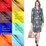 Form gedrucktes Silk Chinakrepp-Gewebe für Dame-Kleider