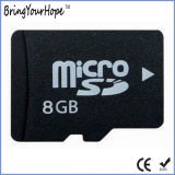 Tarjeta micro de la capacidad plena 8GB SD Hc (8GB TF)