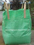 Зеленый мешок угла FIBC креста ткани большой