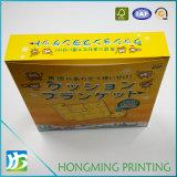 색깔에 의하여 인쇄되는 광택 있는 박판 종이 음식 상자