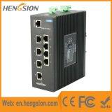 Interruttore industriale Port gestito di Ethernet della guida di BACCANO di Tx di 8 megabit