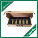 Zurückführbarer gewölbtes Papier-Verpackungs-Kasten mit Schaumgummi-Einlage