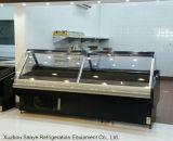 Winkel van de Slachterij van de Supermarkt van de Vertoning van het Vlees van Xuzhou de Ijskast Gebruikte
