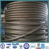 Corde chaude de fil d'acier de la vente 6*7
