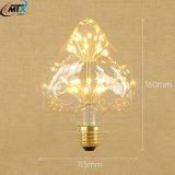 Lâmpadas de vela LED 3W Lâmpadas LED Branco quente E27 220V Lâmpadas de poupança de energia Lâmpada retro de incandescência de lâmpada Edison de vidro para iluminação para decoração doméstica
