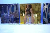 Harte Oberflächen-materielles acrylsauergold und silbernes Blatt des Spiegel-4X8