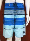 Beachwear dello Swimwear degli articoli di Short della spuma della striscia per gli uomini/donne