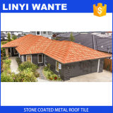 Римский тип плитка крыши, каменные Coated плитки крыши металла, толь металла, алюминиевые плитки толя