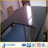 Weißer Farben-Stein-Marmor-Aluminiumbienenwabe-Panel für Küche