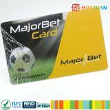 Изготовленный на заказ членский билет печатание 13.56MHz NTAG213 NFC с Кодим QR