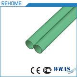 Tubulação plástica da cor verde PPR para a água quente