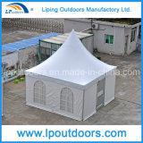 Tente blanche 5X5m de luxe extérieure de chapiteau de pagoda pour différents événements