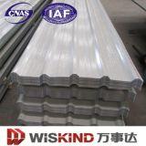 Chapa de aço ondulada galvanizada para o metal da telhadura com ISO 2000