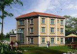 Pequeña casa modular de la estructura de acero de la luz del apartamento