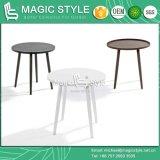 Tabela ao ar livre de alumínio do clube do café da tabela do lado do jardim da mesa redonda de mesa redonda (estilo mágico)