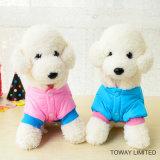 方法ボタンのポケット犬のコートの暖かいペットは衣服を遊ばす