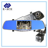 5 pouces Review Mirror Camera Auto Dash Cam Car DVR