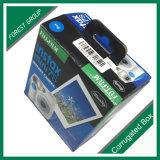 Flacher gepackter kundenspezifischer Papierkasten-aufbereiteter Papierkasten