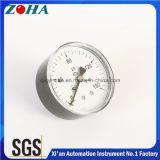 Mini indicateur de pression montant en arrière pour le gaz ou hydraulique