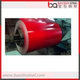 El color del precio de fábrica cubrió la bobina de acero galvanizada en frío