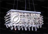 De moderne Tegenhanger van de Rotan steekt de Duidelijke Lamp Om6803 van de Tegenhanger van de Bal van het Glas aan