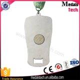 Medalha magnética do abridor de frasco da lembrança do esporte do metal para o funcionamento de Sparta