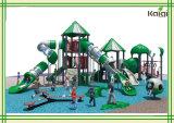 De Apparatuur van de Speelplaats van openlucht Grote Middelgrote Kinderen speelplaats-Kaiqi Van uitstekende kwaliteit, de OpenluchtSpeelplaats van het Type van Wildernis, Beschikbaar in Vele Kleuren (KQ60064A)