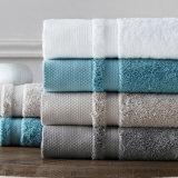 中国は綿タオルの製造者、ホテルの白く豪華な浴室タオルを作った